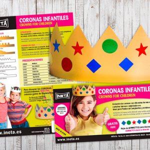 Packaging Corones Infantils
