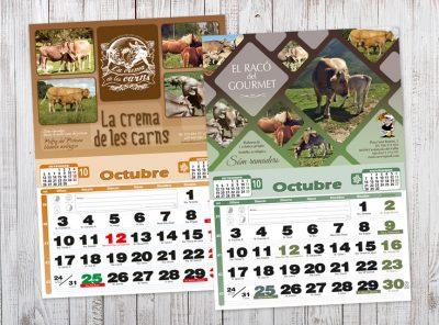 Calendaris de paret