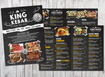 Carta King Kebab