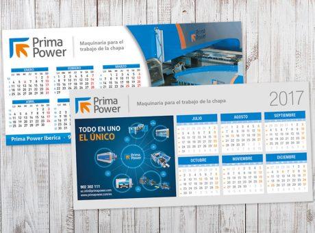 Calendaris sobre taula