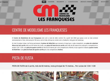 Web Centre Modelisme Les Franqueses